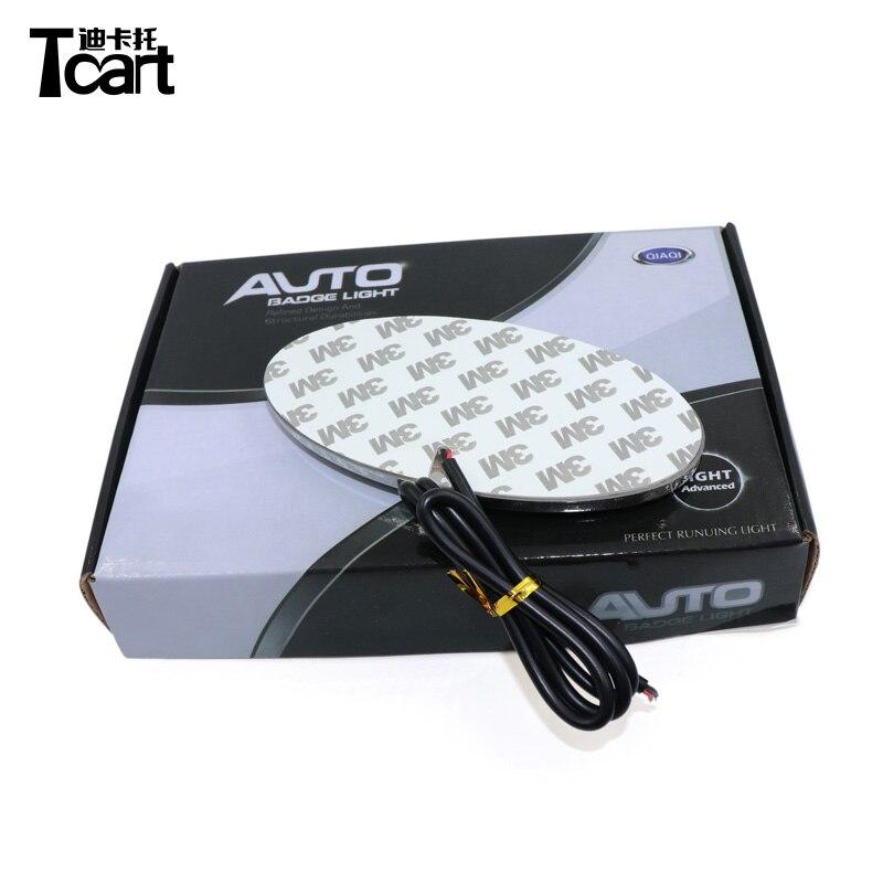 Tcart Car Styling 4D Logo Light Emblem Light For Kia Logo Laser Projector Emblem Logo Lights Led Rear Badge Sticker Lamp