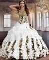 2016 Modern vestidos De quinceañera vestidos desmontables faldas Vestido De Debutante Para 15 años más el tamaño bola De mascarada vestidos