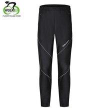 d295b1144d9 WOSAWE pantalones para correr a prueba de viento impermeable PU tela  térmica ciclismo senderismo Camping pesca ciclismo Fitness .