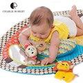 Impermeable juguete del bebé estera del juego del bebé Tapete Infantil bebé gateando alfombra de juego regalo recién nacido actividad Gym de pañales alfombra HK884
