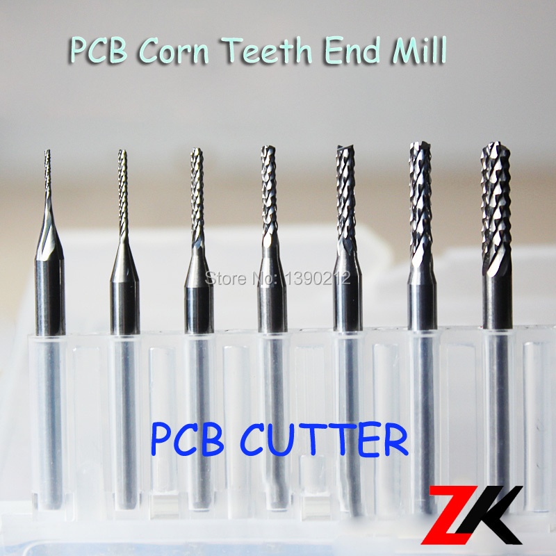 Pcb Print Circuit Board End Mill Endmill For Cnc Pcb Milling Cutting
