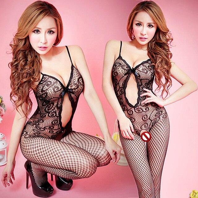 12 đồ lót sexy nóng Phụ Nữ Mở Crotch BabyStockings fishnet Cơ Thể Tuyệt Đối Dress Erotic Trang Phục Đồ Lót