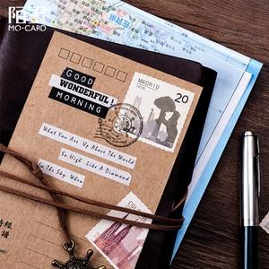 46 шт./лот, винтажный мир, печать, украшение, бумажная наклейка, сделай сам, альбом, дневник, скрапбукинг, наклейка, kawaii