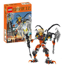 BionicleMask of Light XSZ 711-2 Children's Skull Slicer Bionicle Building Block Minifigure Toys Compatible Legoe