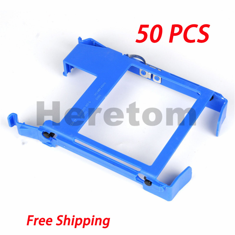50PCS HDD Tray Caddy Bracket DN8MY PX60023 For Dell 390 790 990 3010 7010 9010 3020 7020 9020 T20 T1700 T3610 Free Shipping(China)