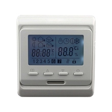 Cheapest prices 16A 230V AC LCD Programmable Digital Floor Heating Temperature Controller Room Air Thermostat