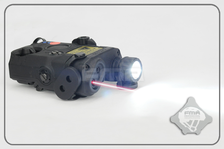FMA PEQ LA5 Upgrade Version LED White light + Red laser with IR Lenses Torch Camping for Helmet Hunting TB0072/TB0074/TB0076