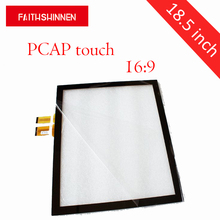 18.5 inch 16:9 capacitive touch panel multi touch screen with USB port support 10 points touch цена 2017