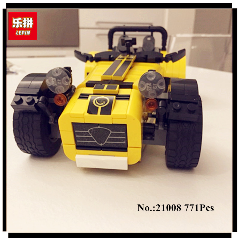 IN STOCK LEPIN 21008 technic series 771pcs The Caterham Classic 620R Racing Car Set Model Building blocks Bricks 21307 Toy in stock new lepin 21009 fxx 1 17 toy building blocks 632pcs technic racing sports car supercar model boy gift compatible 8156