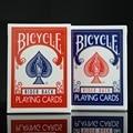 2 pçs/set Bicicleta Blue & Red Bicicleta Mágica de Poker Regulares Baralho Rider Voltar Padrão Baralhos Truque de Mágica 808 Selado Decks