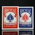 2 unids/set Bicicleta Bicicleta Mágica Poker Azul y Rojo Regular Jinete Volver Estándar Naipes Cubiertas Truco de Magia 808 Sellado cubiertas