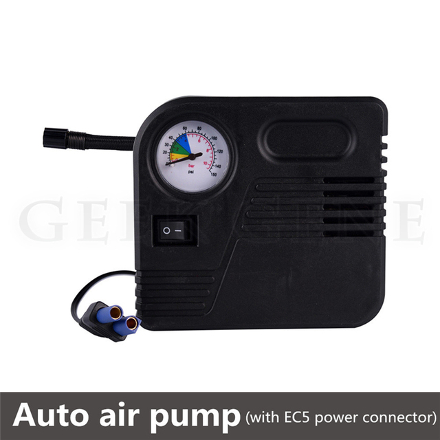 2017 NEW 12V Mini Portable Air Compressors Pump Tire Inflator Compact With Pressure Gauge  for Cars Bikes Motorcycle