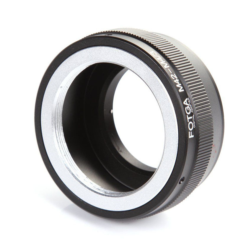 New Hot Lens Adapter Ring M42-M4/3 For Olympus Panasonic M42 to Micro 4/3 M4/3 Mount Camera Accessories