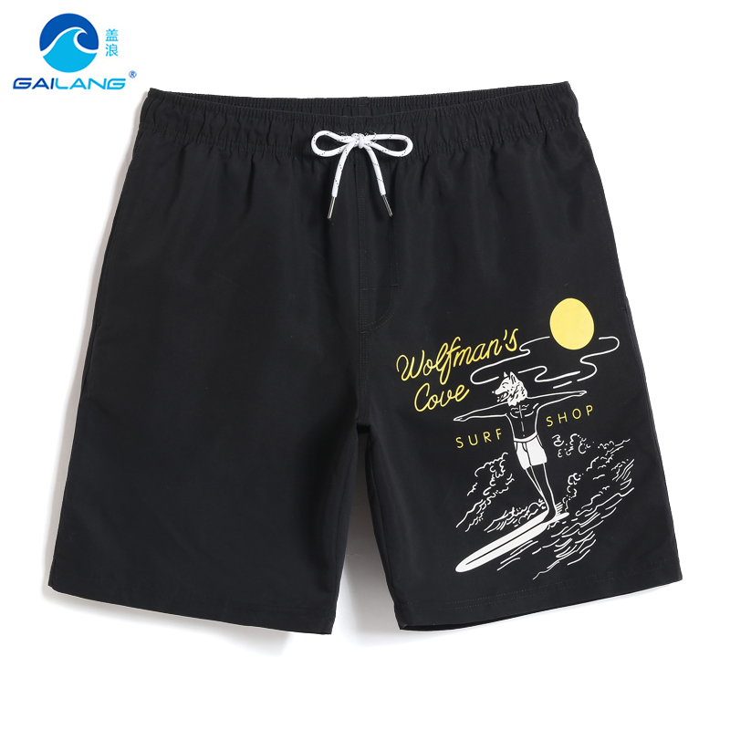 Board     short   men's swimming trunks swimwear quick dry surfing hawaiian joggers swimsuit printed plavly   board     shorts   liner