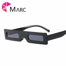 MARC NEW WOMEN MEN Square sunglasses Fashion Personality Black oculos Brand eyewear Plastic glasses Trendy
