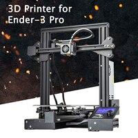 Ender-3 Pro V slot-Pru sa I3 DIY 3D Kit Impressora de 220x220x250mm Tamanho da Impressão com Plataforma de Etiqueta Magnética