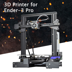 Ender-3 Pro V-slot Pru sa I3 DIY 3D Printer Kit 220x220x250mm Printing Size met Magnetische Platform Sticker