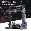 Ender-3 Pro ranura en V Pru sa I3 DIY 3D Kit de impresora 220x220x250mm Tamaño de impresión con pegatina de plataforma magnética