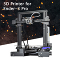 Ender-3 Pro ranura en V Pru sa I3 DIY 3D Kit de impresora 220x220x250mm Tamaño de impresión con magnético plataforma etiqueta engomada