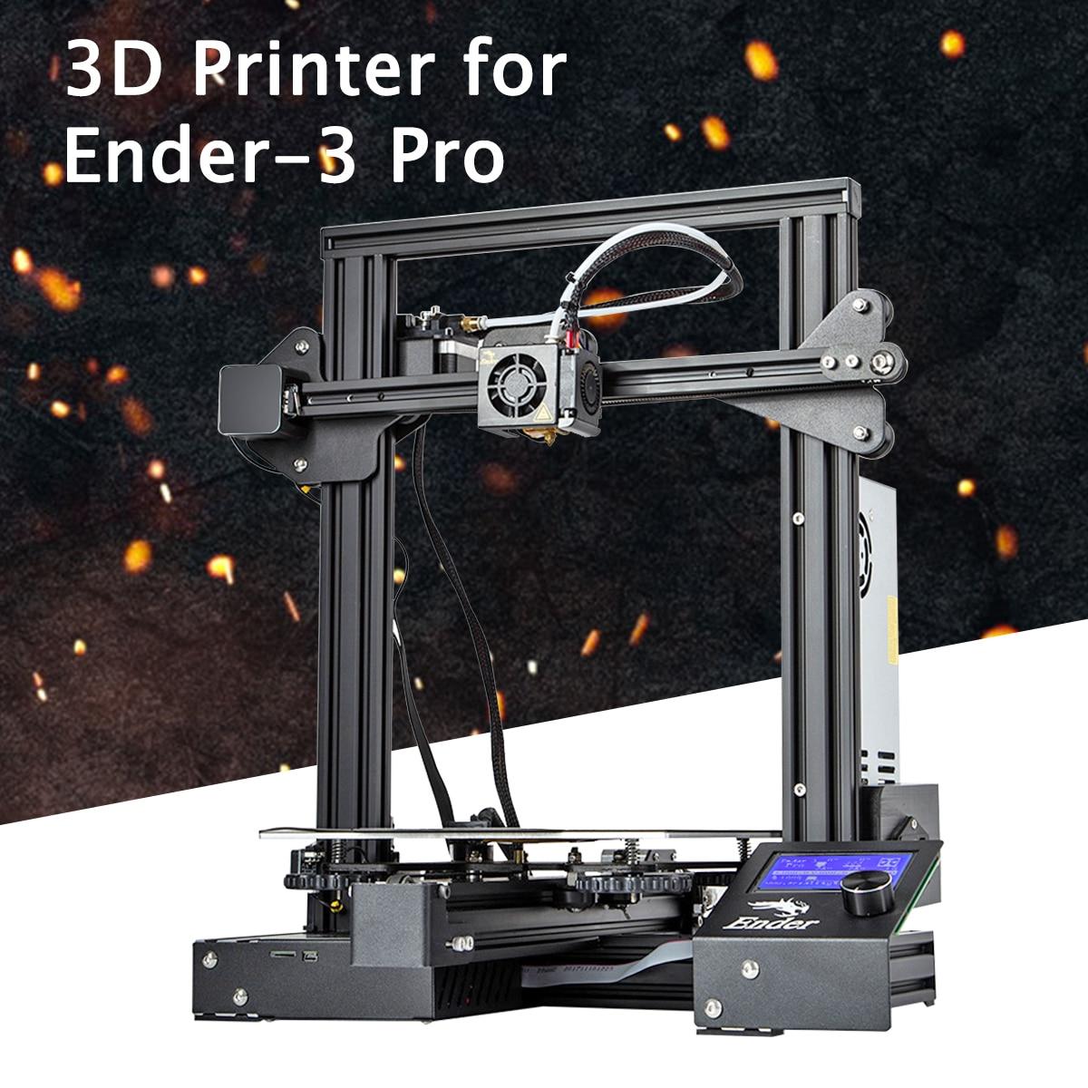 Ender-3 Pro v-slot Pru sa I3 bricolage 3D imprimante Kit 220x220x250mm taille d'impression avec autocollant de plate-forme magnétique
