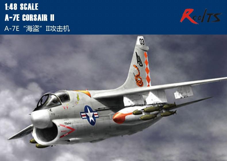 RealTS Hobby Boss 1/48 80345 A-7E Corsair Model Kit Hobbyboss
