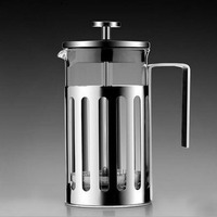 MICCK Stainless Steel French Press Coffee Espresso Maker Coffee Kettle Pot Barista Tools Coffe and Tea Brewer Pot Teapot