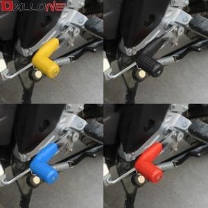 Image 5 - オートバイギアレバーセットノッチセット再焼成保護ケースシフトレバースリーブオートバイの変更アクセサリー