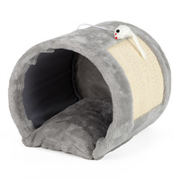 cute-tunnel-cat-scratch-board-house-cat-bed-house-cats-scratcher-scratching-pad-post-interactive-play-toy-for-pet-cat-training