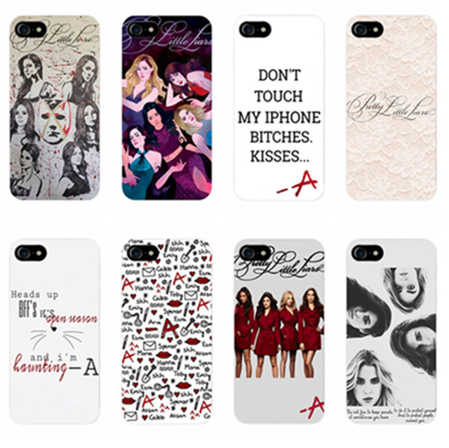 premium selection 9a1af 621bc US $1.76 35% OFF|New Cute Pretty Little Liars Girls secret series TPU  Silicone Cover Case for Apple iPhone 7 7PLUS 6 6s Plus SE 5 5s-in  Half-wrapped ...