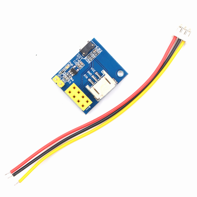 elecrow esp8266 esp 01s rgb led controller module for arduino ide ws2812 light ring smart