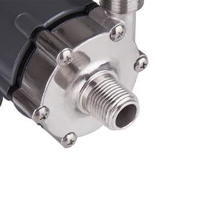 Image 5 - 304 stal głowy pompa magnetyczna 15R, Homebrew, Food Grade wysoka temperatura opór 140C piwa pompa z napędem magnetycznym domowe warzenie