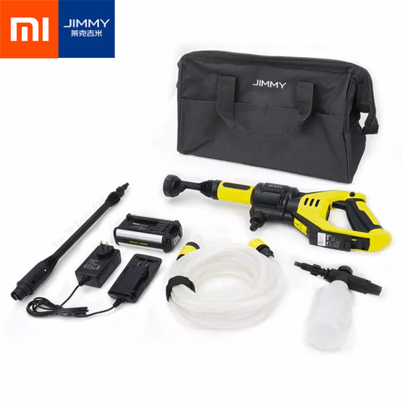 XIaomi Lake Jimmy Household Handheld Wireless Washing Gun Fast Charging Battery Life Convenient Cleaning Smart Tool JW 31-in Vacuum Cleaner Parts from Home Appliances    1
