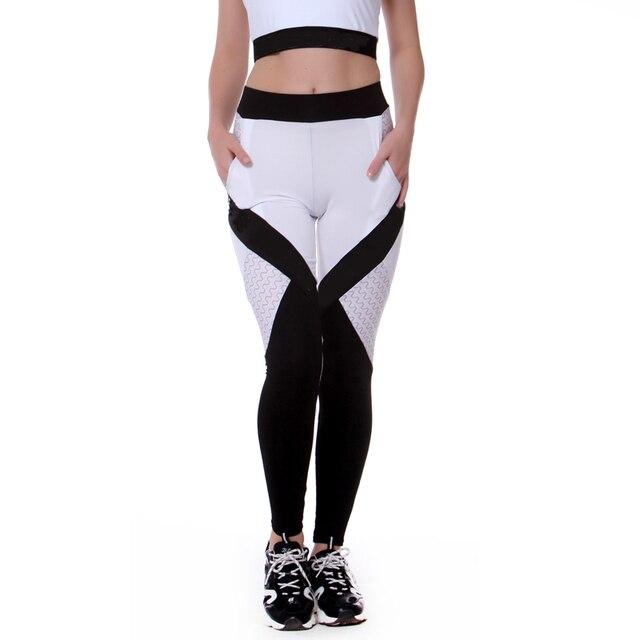 Running Trousers Tights Gym Training Legging 8