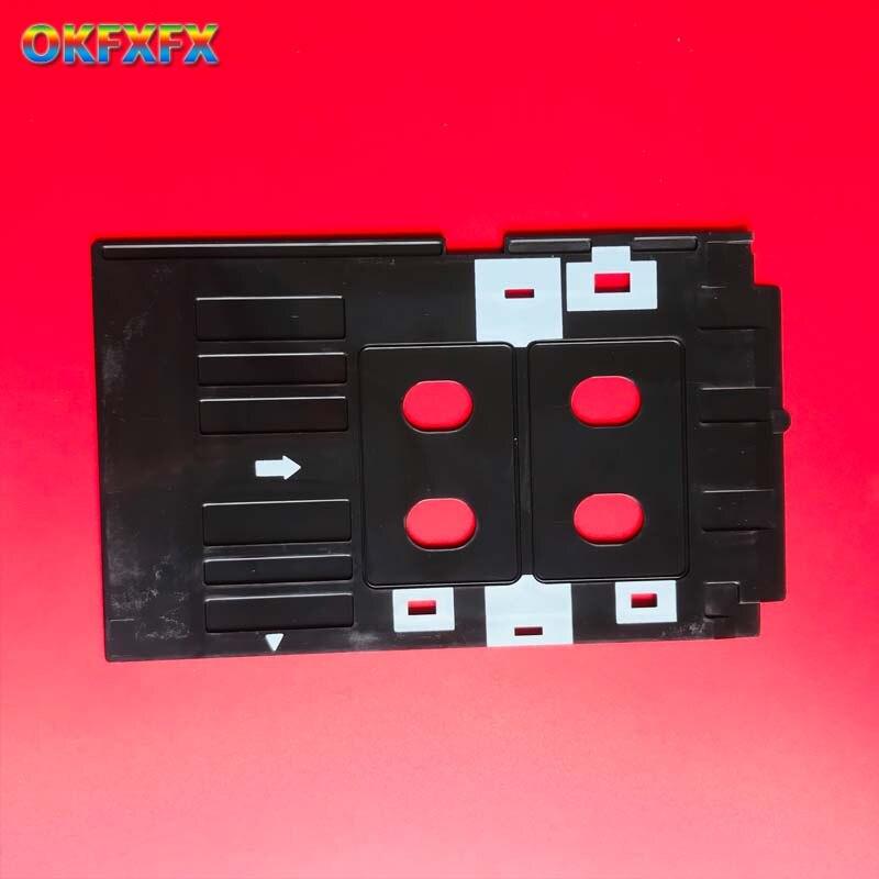 Printer Supplies Ink Way 25pcs Pvc Id Card Tray For R260 R265 R270 R280 R290 R380 R390 Rx680 T50 T60 A50 P50 L800 L801 R330
