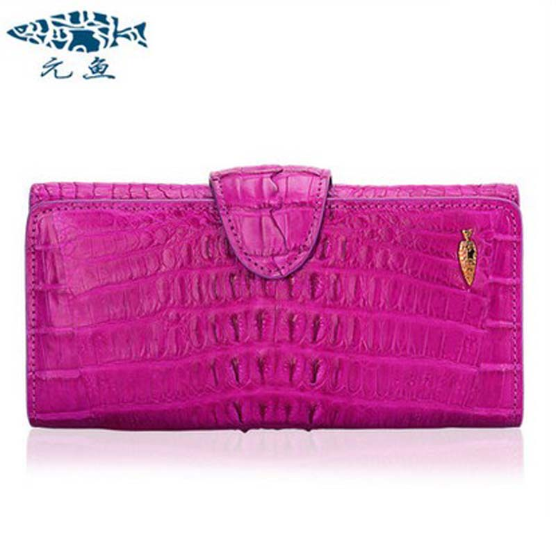 yuanyu 2018 new hot free shipping real alligator women clutches long women purse fashion women day clutch  women wallet yuanyu 2018 new hot free shipping python leather women purse female long women clutches women wallet more screens women wallet