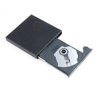 Portable External SliM USB 2 0 CD RW DVD RW SATA Chip Optical Drive CD DVD