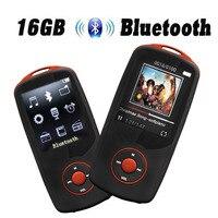 2017 New 100 Original RUIZU X06 16G Bluetooth MP3 Player 1 8 Inch 100hour High Quality