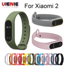 UIENIE mi band 2 Accessories Pulseira Miband Strap Replacement Silicone Wriststrap for Xiaomi Mi2 Smart Bracelet Wrist Band