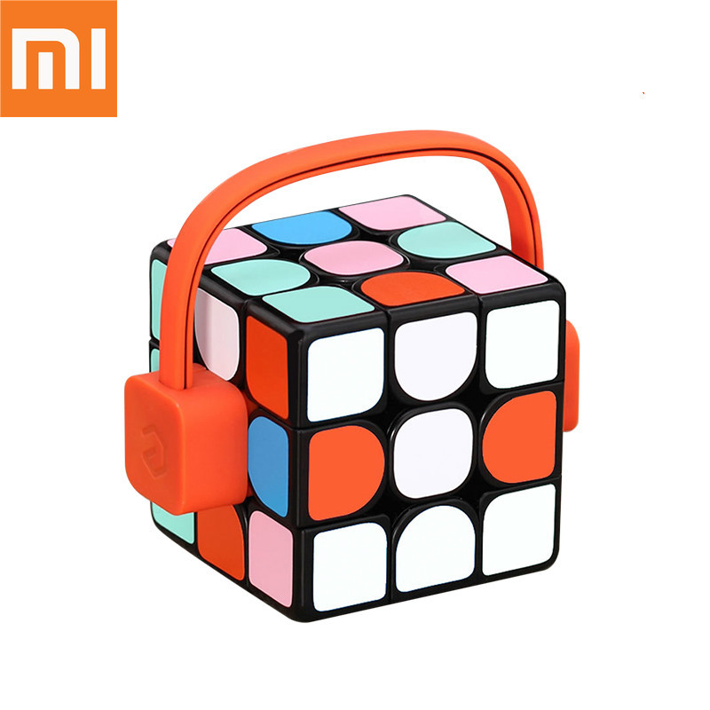 D'origine Xiaomi Giiker super intelligent cube App à distance comntrol Professionnel Magic Cube Puzzles Colorés Éducatifs Jouets Pour homme