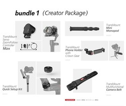 Zhiyun WEEBILL LAB Accessory Kit Includes Follow Focus/Phone Clip/Quick Setup Kit/Monopod/Camera Belt