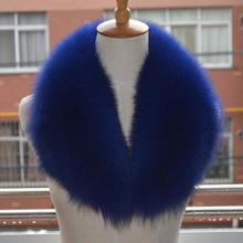 Big Fur Collar For Real Fox Hair, Green Fruit Collar, And Garment