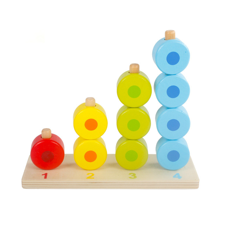 Montessori education wood Numbers and mathematical mathematical toys children montessori teaching aid wooden toy building blocks