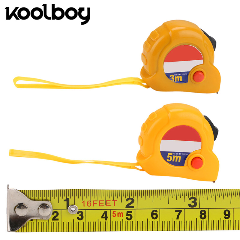 Aggressive 3m/5m Multifunction Retractable Tape Measure Metal Ruler Keychain Body Medical Construction Industry Diy Craft Measuring Tape Fashionable And Attractive Packages Measurement & Analysis Instruments