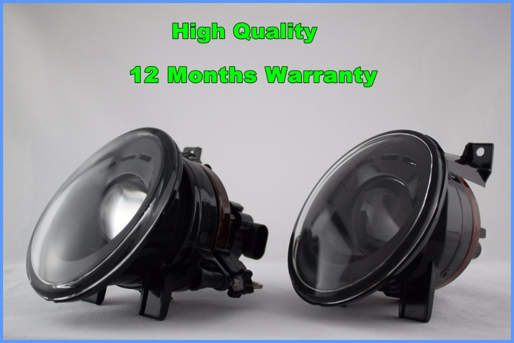 ФОТО For VW Caddy 2011 2012 2013 2014 2015 New Pair Of Fog Lights Fog Lamps H11 Plug With Convex Lens And Bulbs