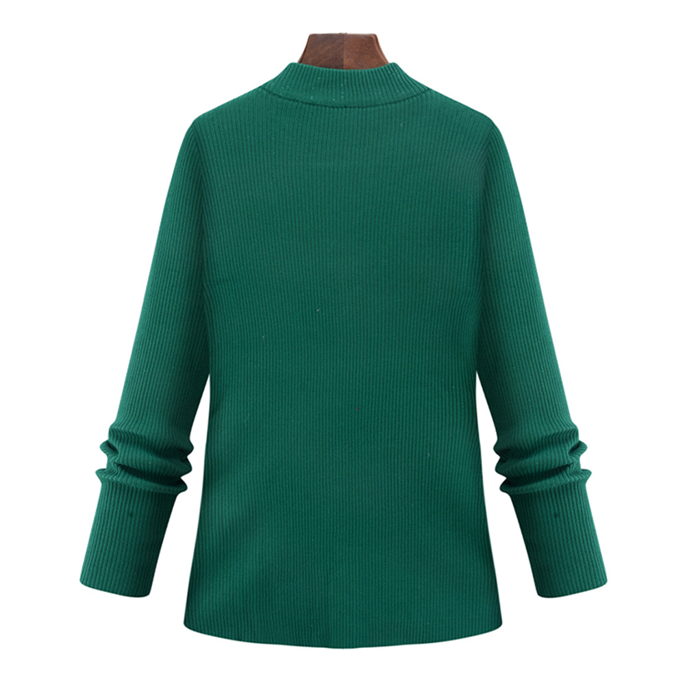 Oversized Sweater for Women 2017 Turtleneck Long Sleeve Hollow Out ...