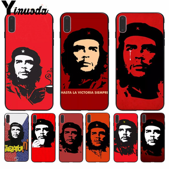 Yinuoda che guevara Smoking Che Guevara Cigar Phone Case cover Shell for Apple iPhone 8 7 6 6S Plus X XS MAX 5 5S SE XR Cellphon image