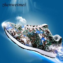 Summer Men Casual Shoes  Men Camouflage Chaussure Homme Scarpe Uomo Mocassin Buty Meskie Sneakers Women italy brand white golden goose superstar casual shoes worn men women low cut fashion ggdb shoes original scarpe donna uomo 2016 page 6