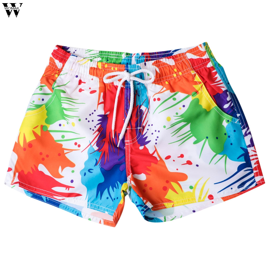 Brand Mens Board Shorts Quick Dry Men Boardshorts Summer Bermuda Surfing Short Male Sea Beach Swimwear Swimming Suit Feb2 Men's Clothing