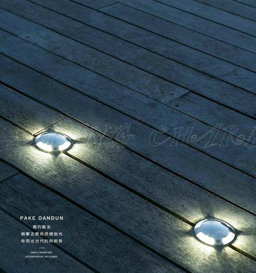 IP68 Waterdichte LED ondergrondse lamp Begraven Outdoor Spot inbouw ...
