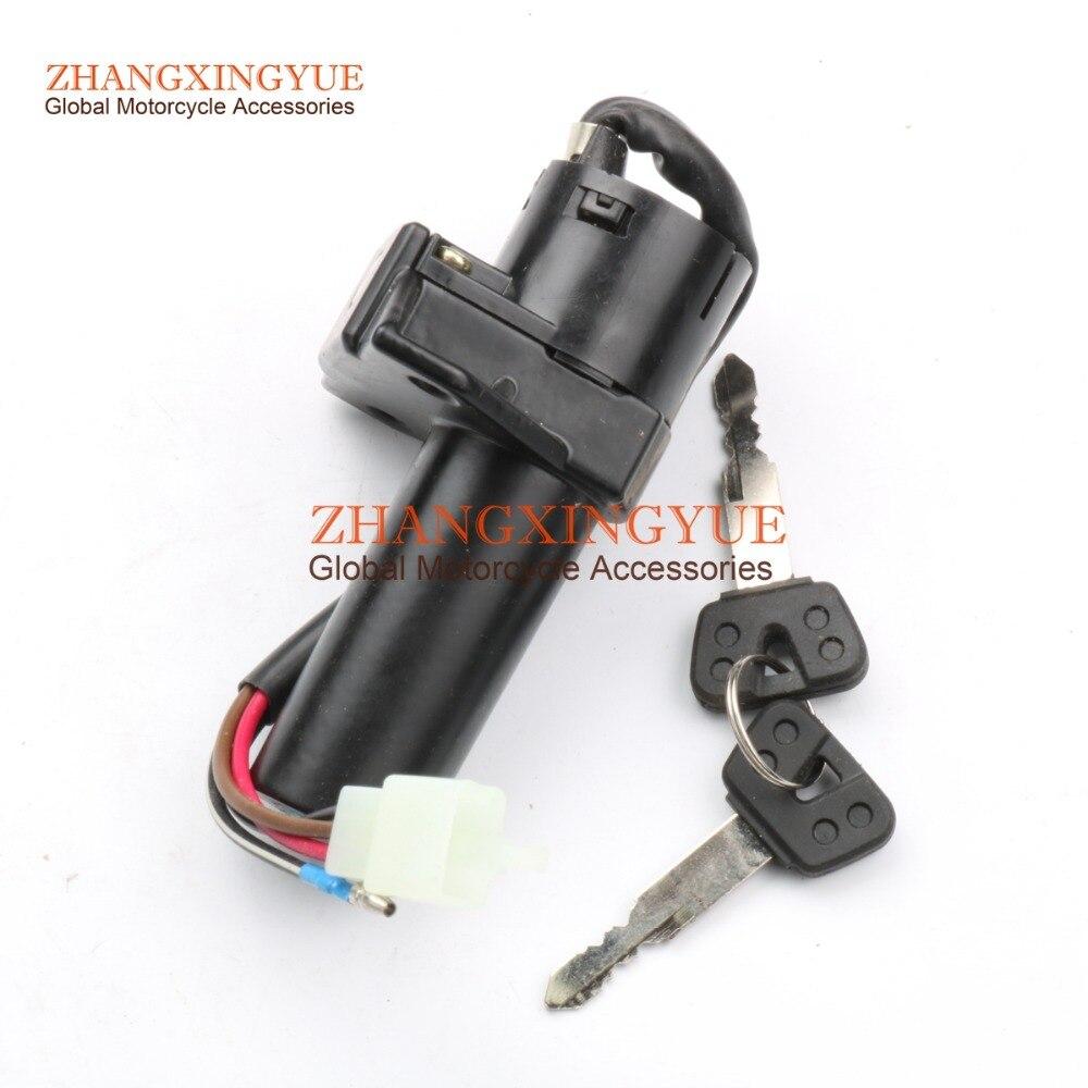 Ignition Switch & Key For Yamaha YBR125 YBR 125 YBR125ED YBR125ESD 3D9-H2501-10